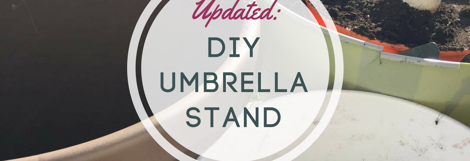Updated Simple Umbrella Stand transplanted